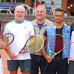 v.l.: Michael Henning, Reinhard Tipke, Sportwart und Organisator Herbert von Holt, Alexander Brüggenwerth und Marc Sylvester